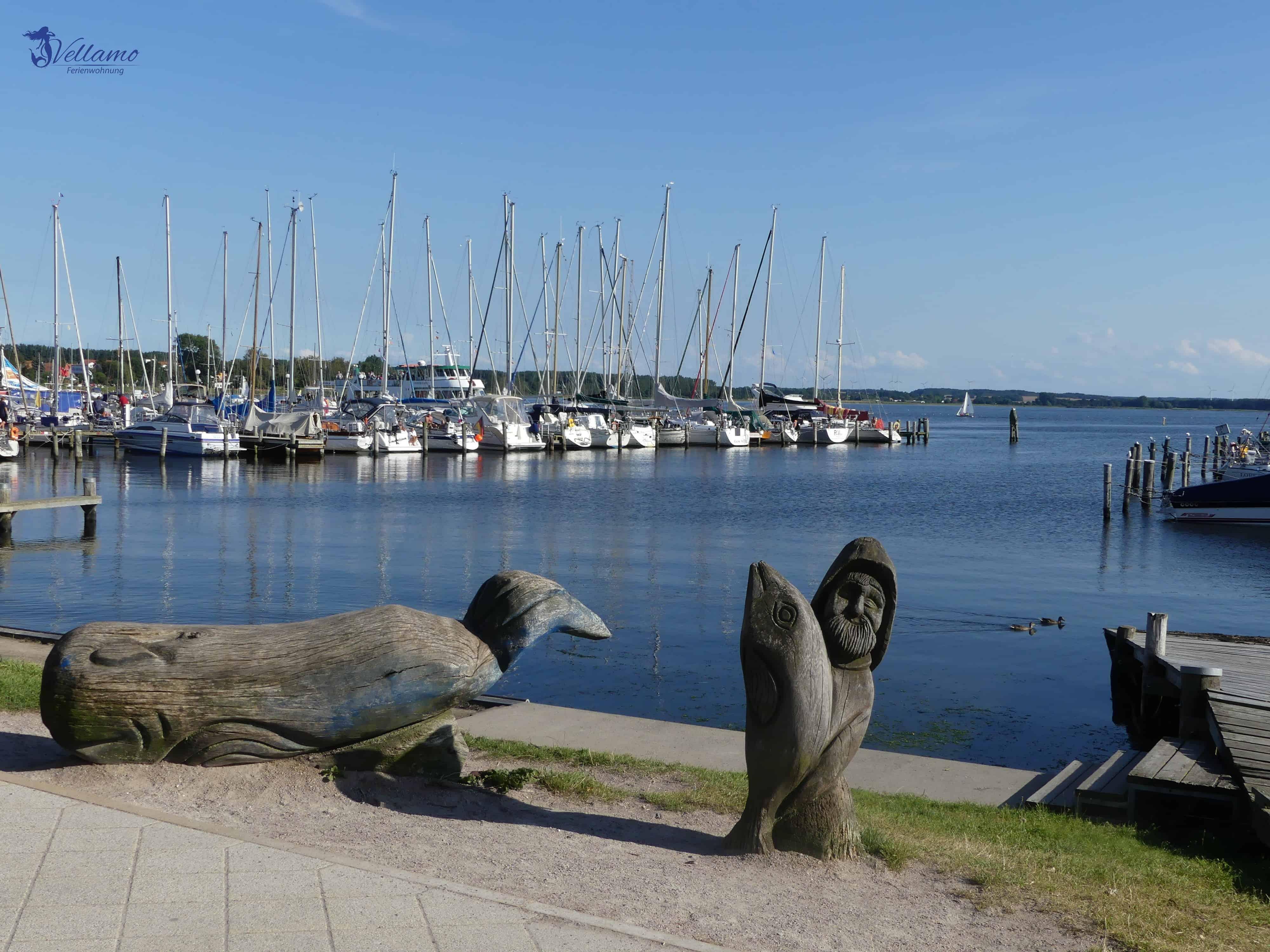 Impressionen Ostseebad Rerik - Blick auf das Salzhaff