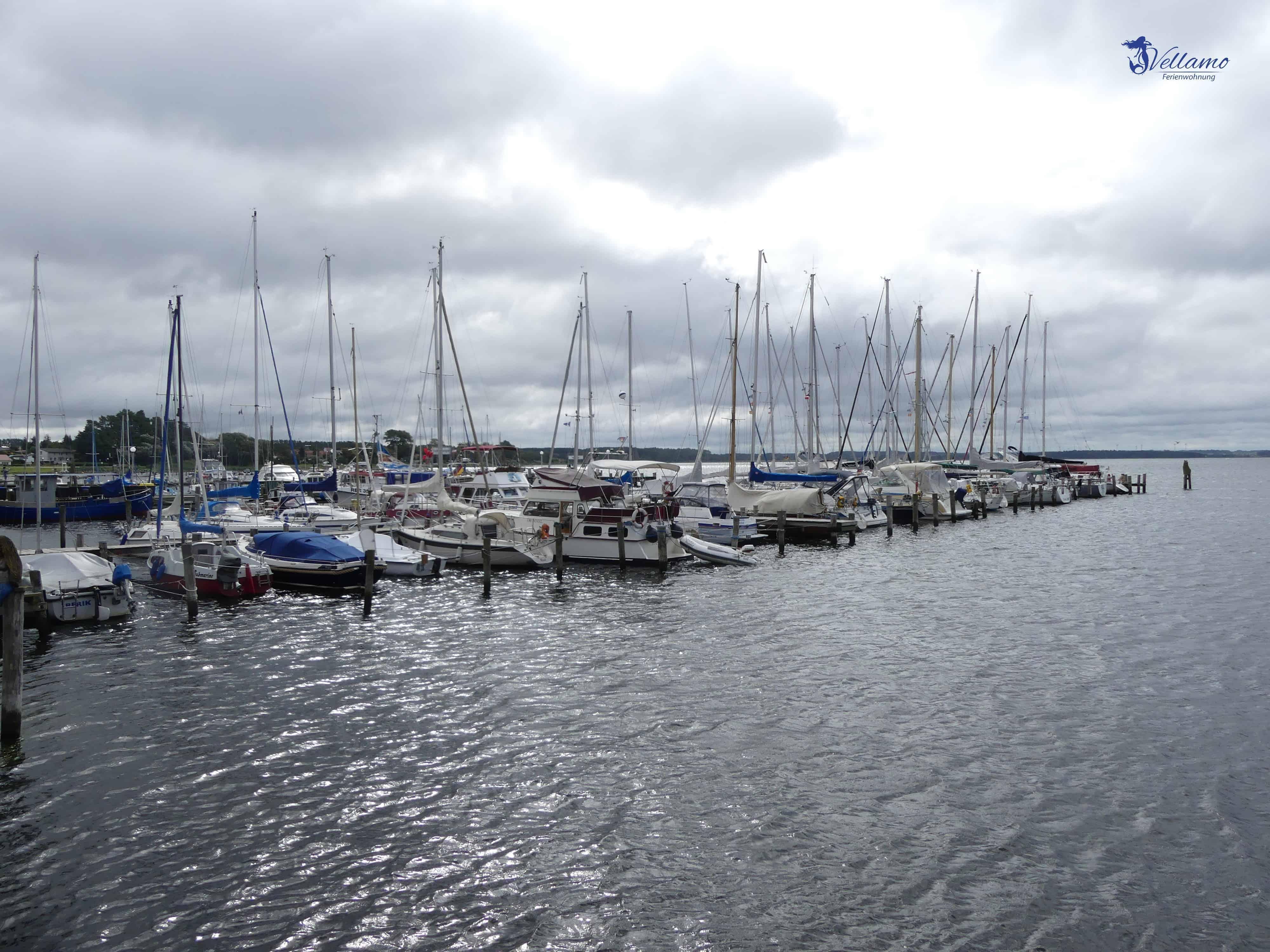 Impressionen Ostseebad Rerik - Segelboote im Hafen