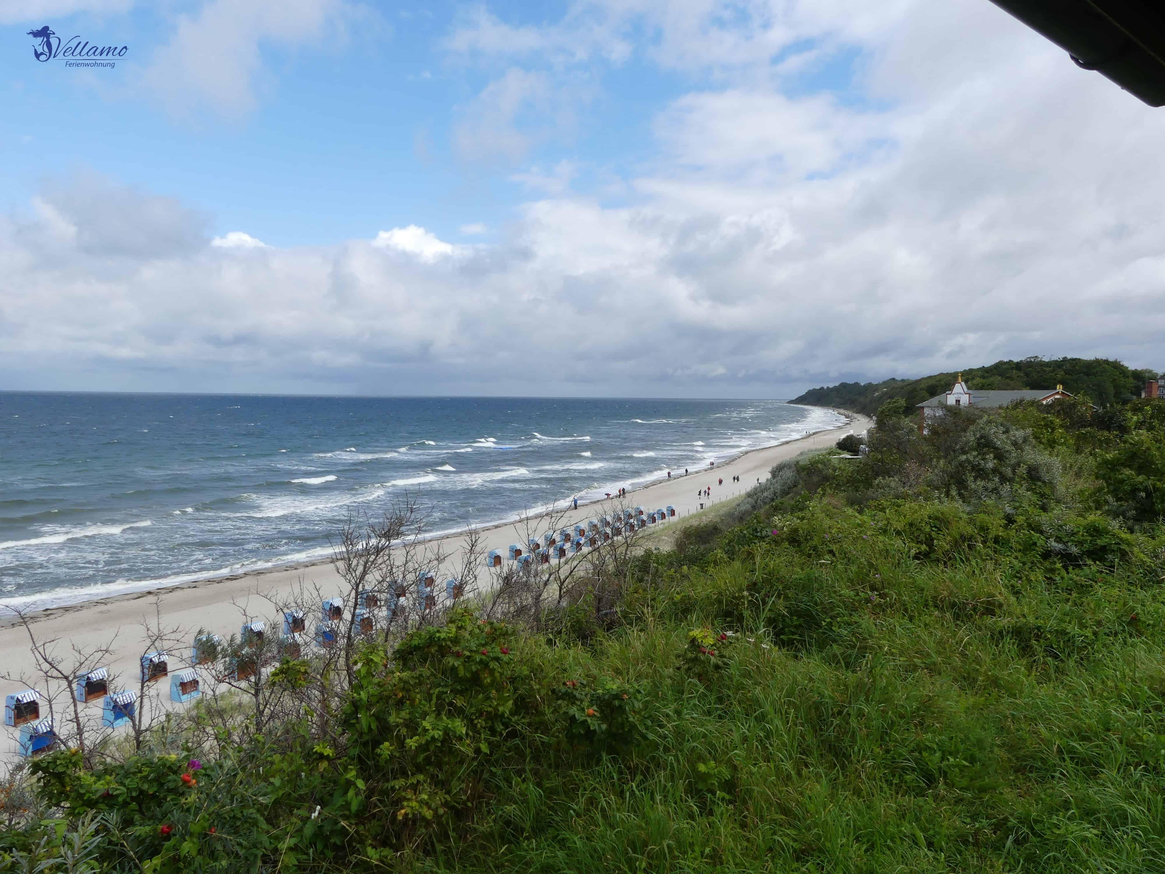 Impressionen Ostseebad Rerik - Strand an der Steilküste