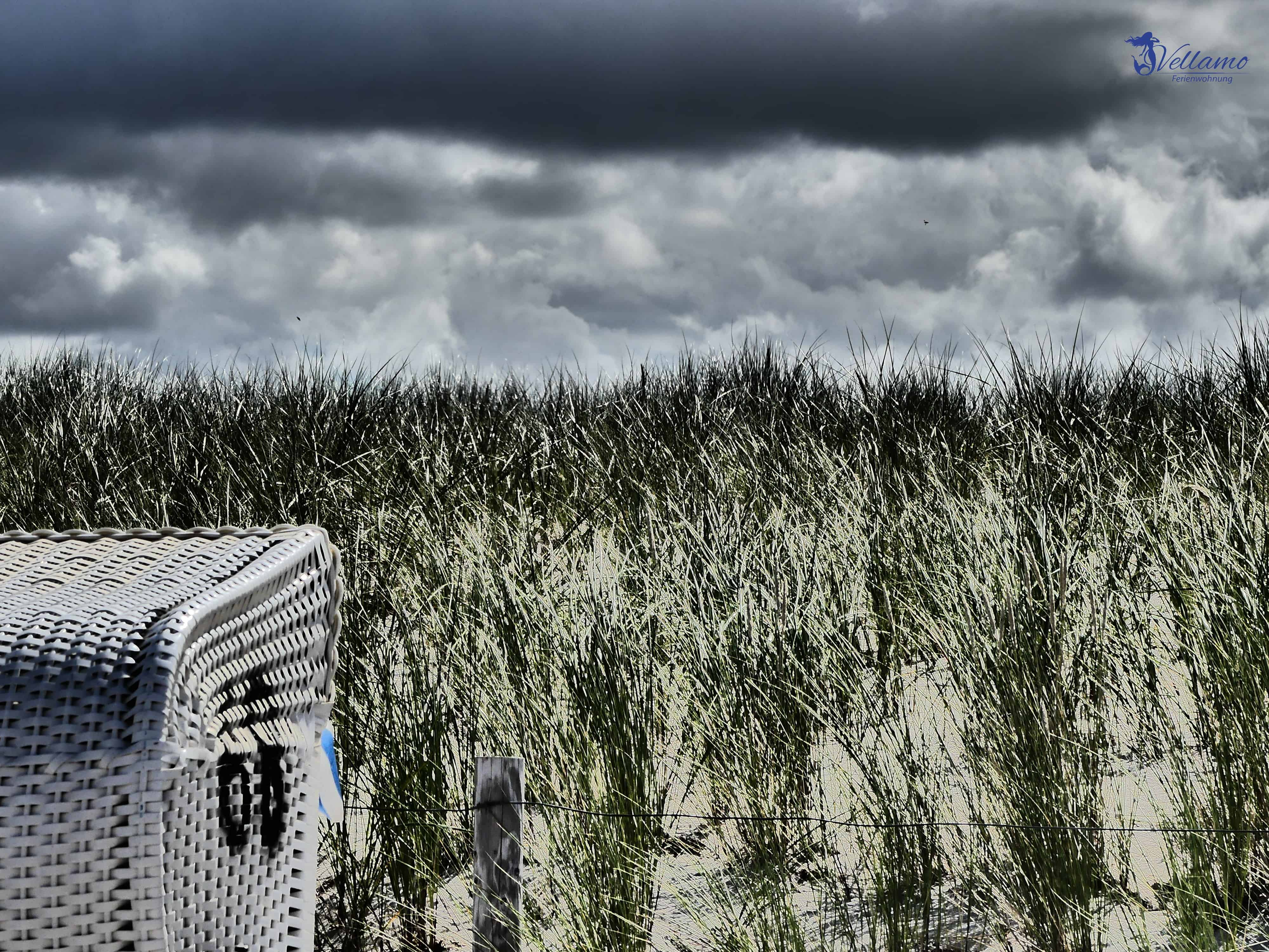 Impressionen Ostseebad Rerik - Strandkorb und Düne