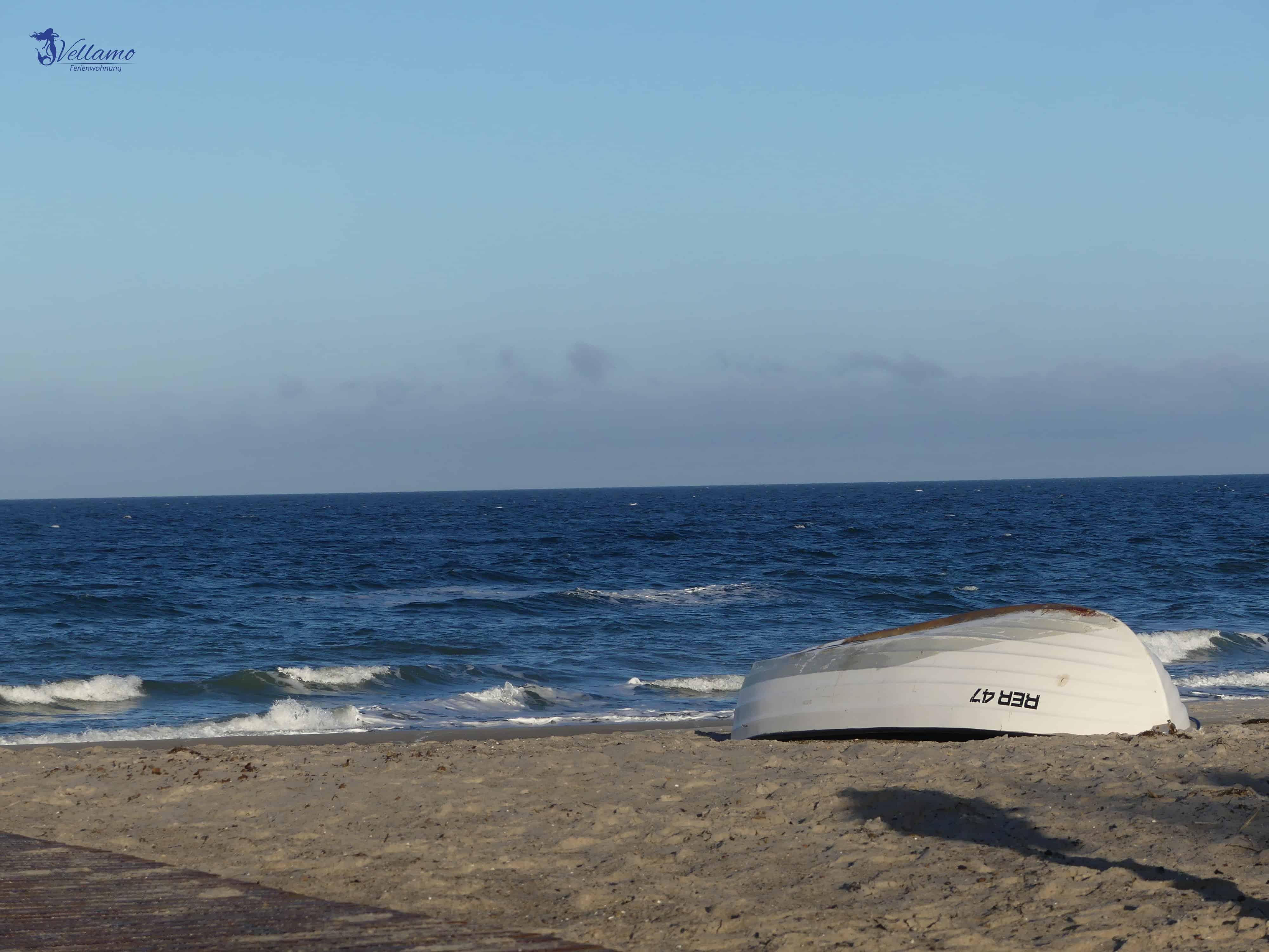 Impressionen Ostseebad Rerik - Boot am Strand